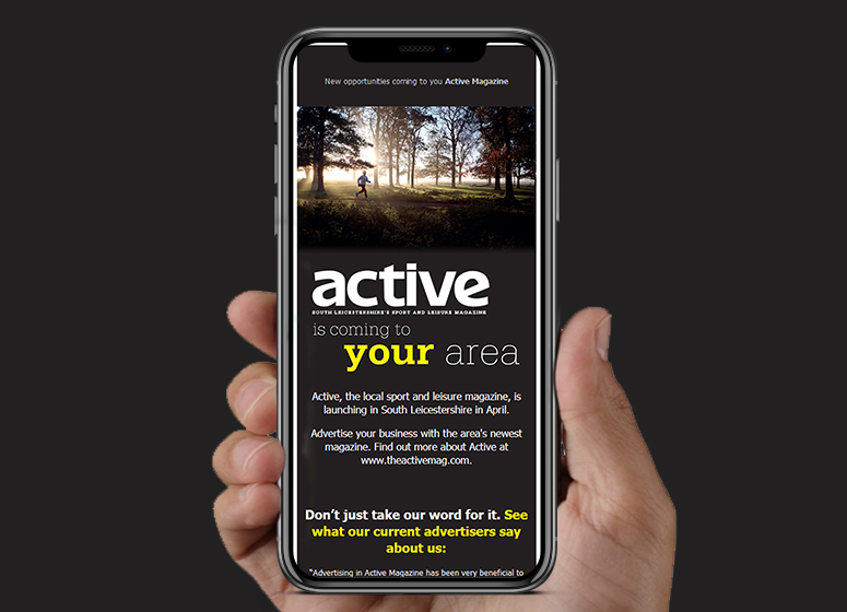 The Active Magazine HTML Email | Stamford Email Design | BJ Creative
