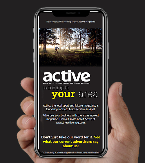The Active Magazine HTML Email | BJ Creative Email Design | Stamford