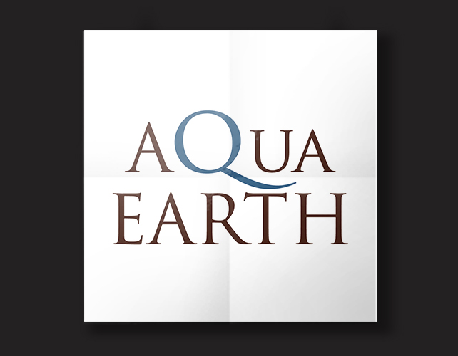 Aqua Earth | BJ Creative Logo Design Stamford