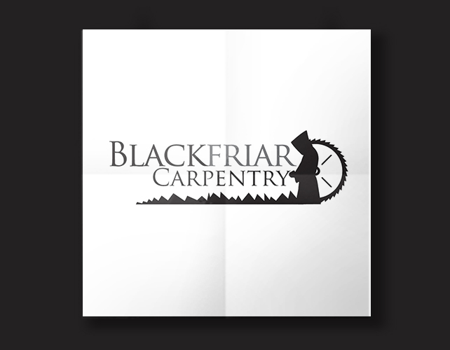 Blackfriars Carpentry | BJ Creative Logo Design