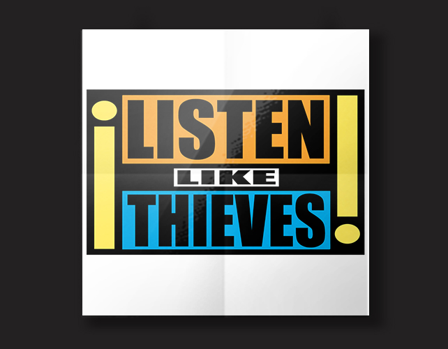 Listen Like Thieves | BJ Creative Logo Design Stamford