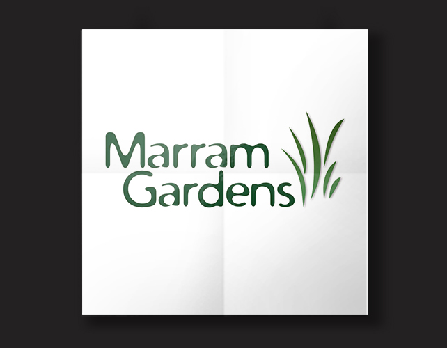 Marram Gardens | BJ Creative Logo Design