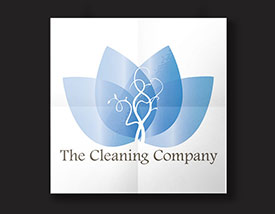 Logo Design by BJ Creative - The Cleaning Company