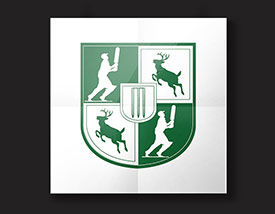 Logo Design by BJ Creative - Uffington Cricket Club