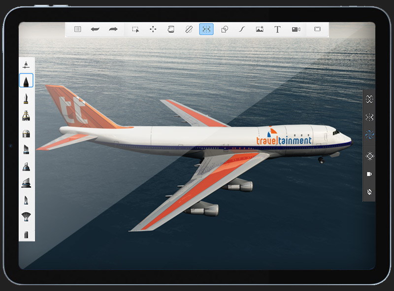 Boeing 747 Blender Render by BJ Creative 3D Design Stamford