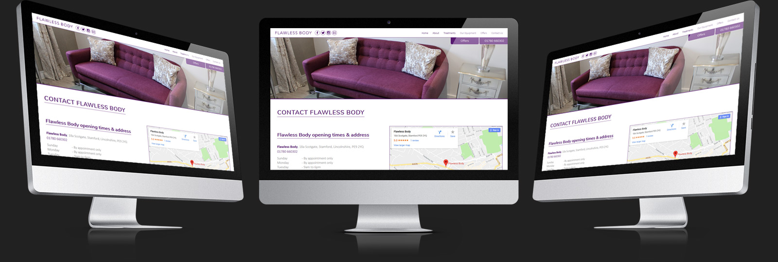Stamford Web Design - Flawless Body