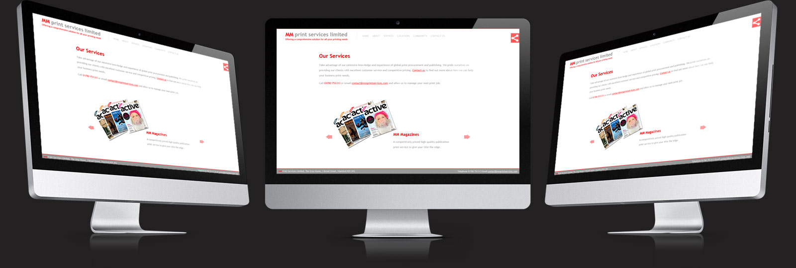 Stamford Web Design - MM Print Services