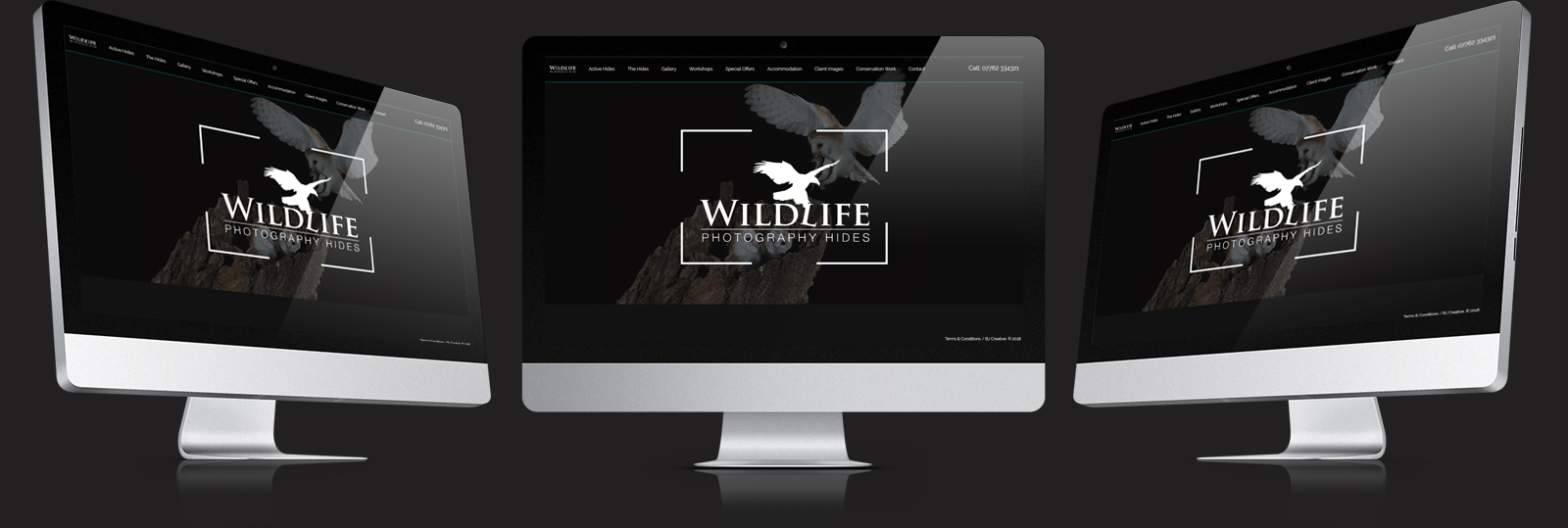 Stamford Web Design - Wildlie Photo Hides